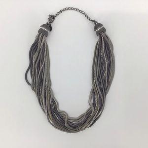 Lia Sophia Multi-Strand Chain Necklace 33360